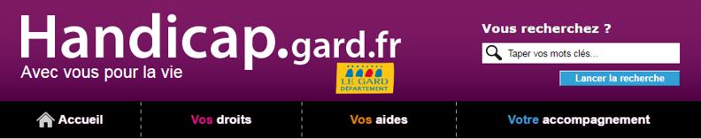 Le Gard lance un portail dédié au handicap