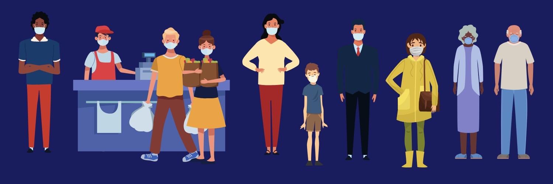 Les mesures mises en place par les Départements dans le cadre de l'état d'urgence sanitaire liée à l'épidémie de covid-19