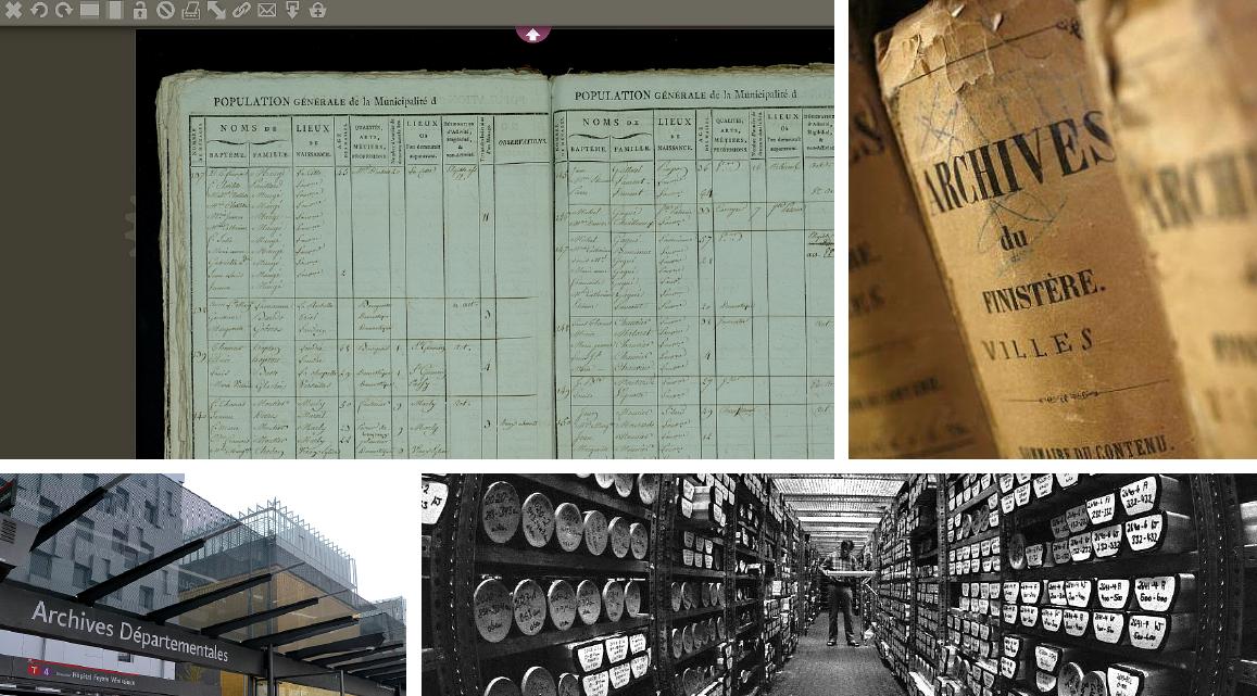 Du neuf dans les Archives départementales !