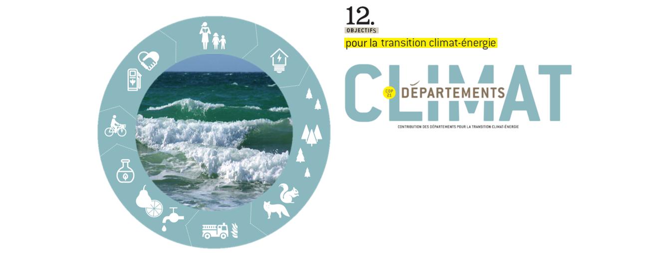 Les Départements en faveur du climat