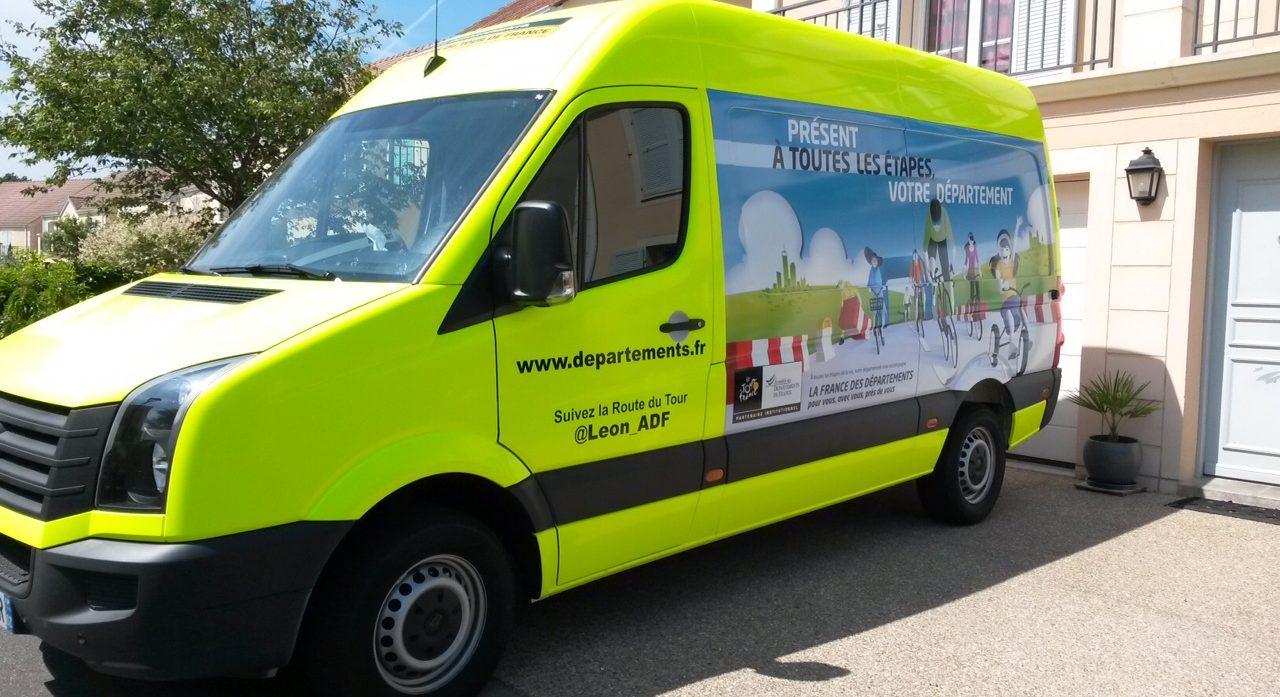 Les départements en route pour le Tour de France