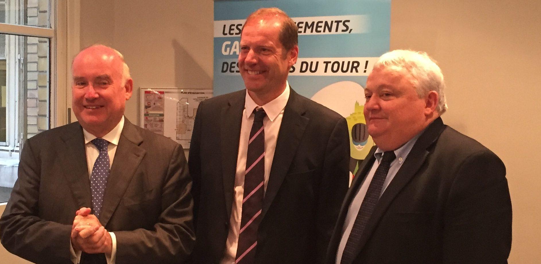Tour de France : les départements sur la rampe de lancement