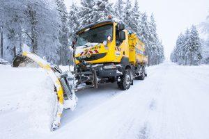 Viabilité hivernale dans le Bas-Rhin ©DenisGUICHOT