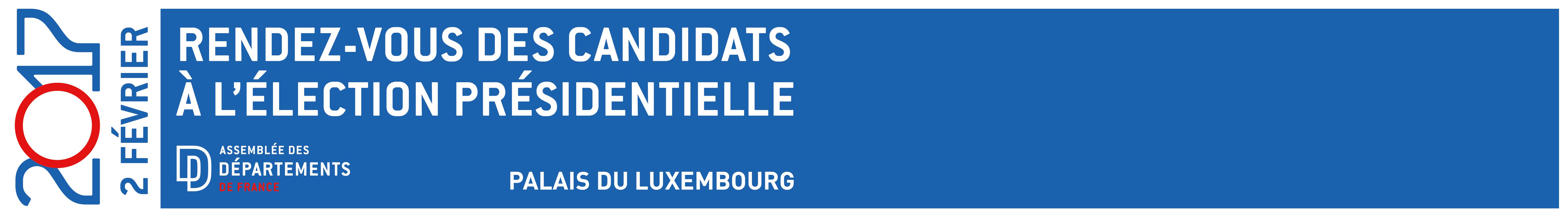 Élection présidentielle : L'ADF donne rdv aux candidats le 2 février 2017