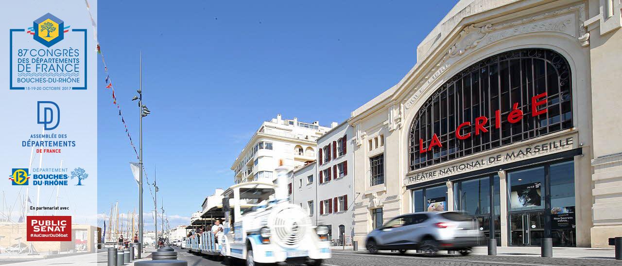 87e Congrès des Départements dans les Bouches-du-Rhône