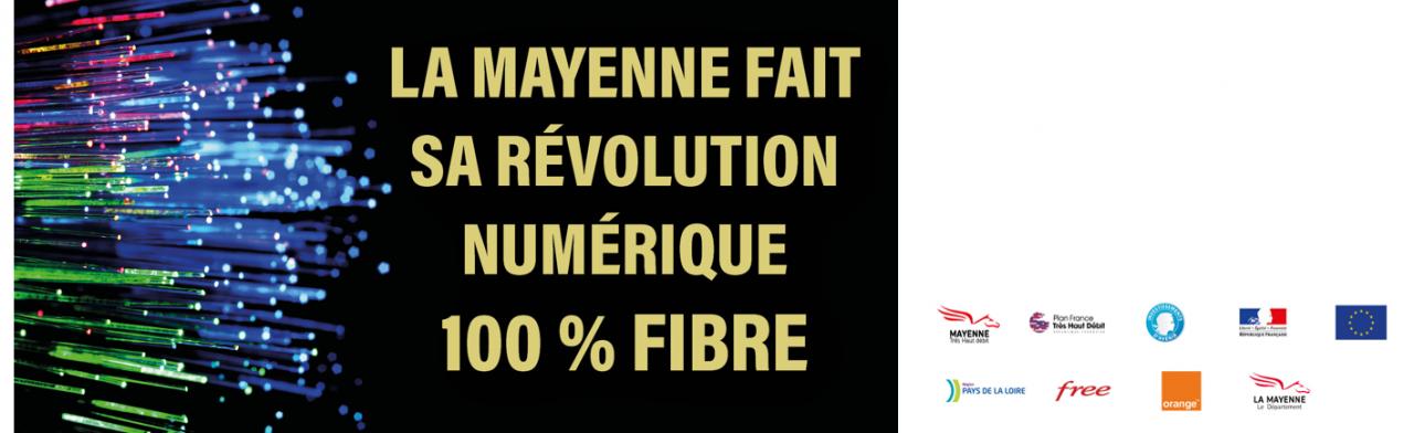 La Mayenne fait sa révolution numérique 100 % fibre