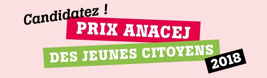 Prix Anacej des jeunes citoyens : c'est parti pour l'édition 2018 !
