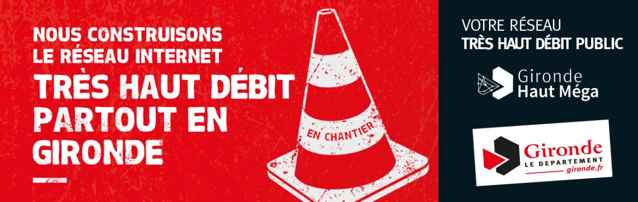 Gironde Haut Méga : lancement du plus grand chantier numérique départemental de France