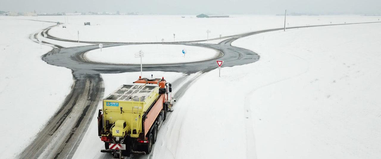 Vigilance neige et verglas, les Départements mobilisés
