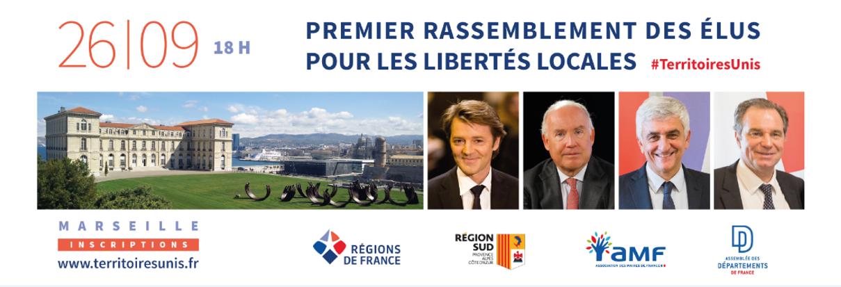Programme du Premier rassemblement des élus pour les libertés locales
