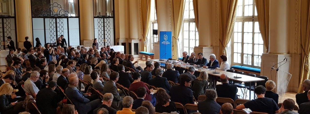 L'événement de l'ADF « Les nouveaux enjeux de la relation Départements-Métropoles » attire 250 personnes à la Mairie du 5e arrondissement !