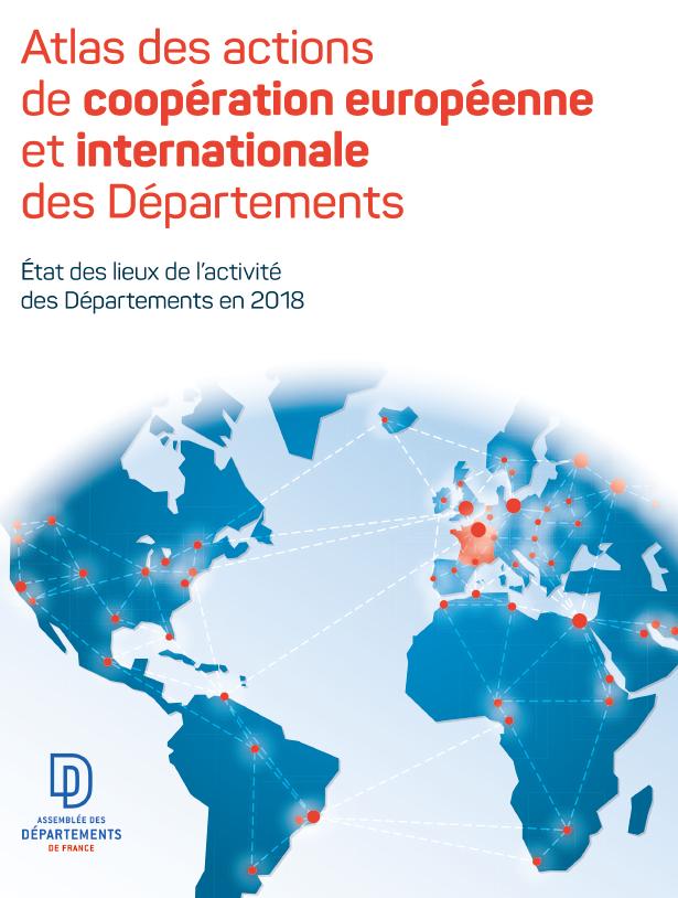 Atlas des actions de coopération européenne et internationale des Départements