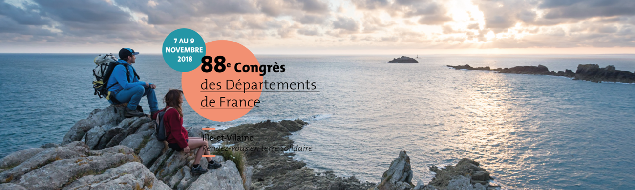 Rendez-vous à Rennes au 88e Congrès des Départements de France