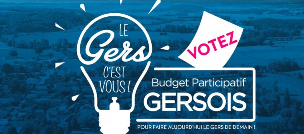Budget participatif gersois : 36 projets retenus pour la 1ère édition !
