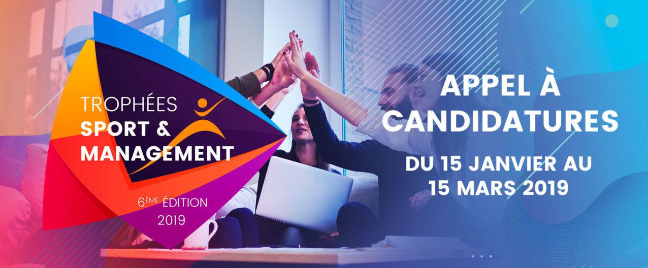 Trophées Sport et Management 2019 : à vos marques, prêts, candidatez !