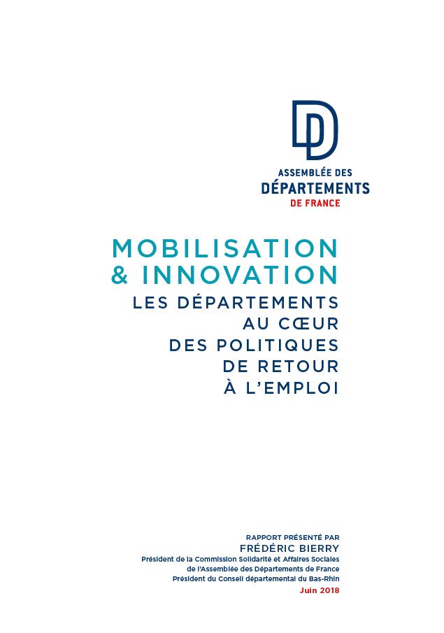 Mobilisation et innovation : Les Départements au cœur des politiques de retour à l'emploi