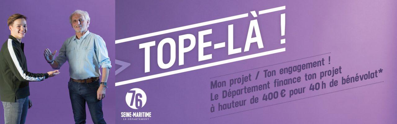 « Tope-Là ! » avec le Département de la Seine-Maritime