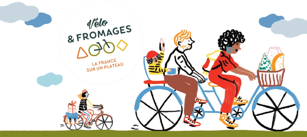 Vélo & Fromages, la France sur un plateau