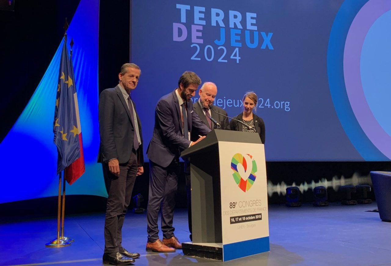 L'ADF labellisée «Terre de Jeux 2024» !