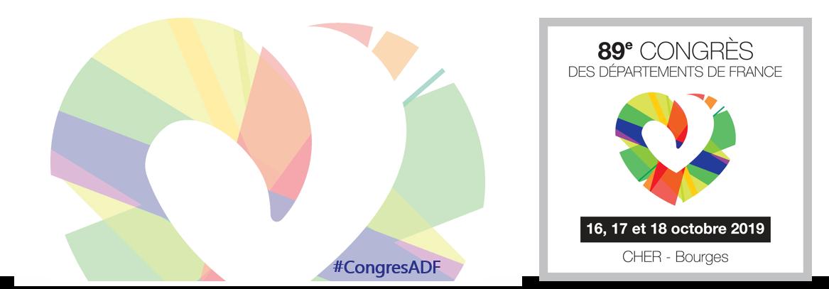 89e Congrès des Départements de France dans le Cher