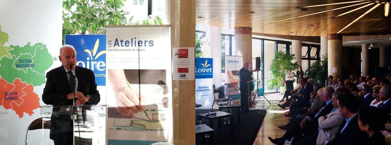 Retour sur les Ateliers des Départements de France dans le Loiret du 12 septembre 2019