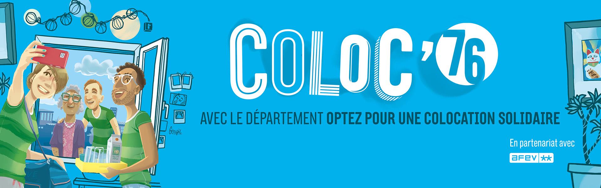 « COLOC 76 », un nouveau dispositif de colocation solidaire dans la Seine-Maritime