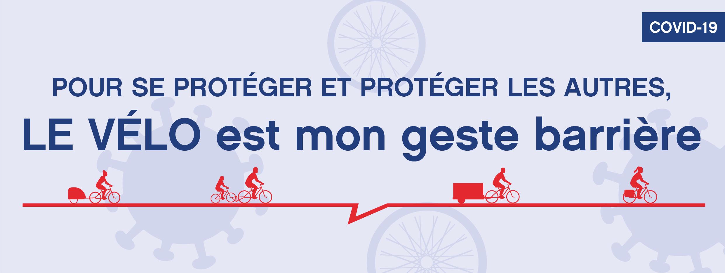 Le vélo, mon transport barrière