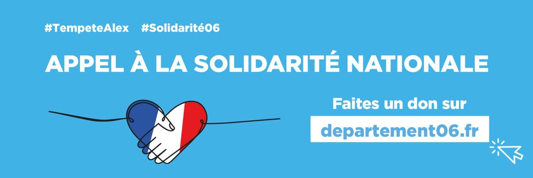 Tempête Alex : L'Assemblée des Départements de France soutient  l'appel à la solidarité nationale pour les Alpes-Maritimes