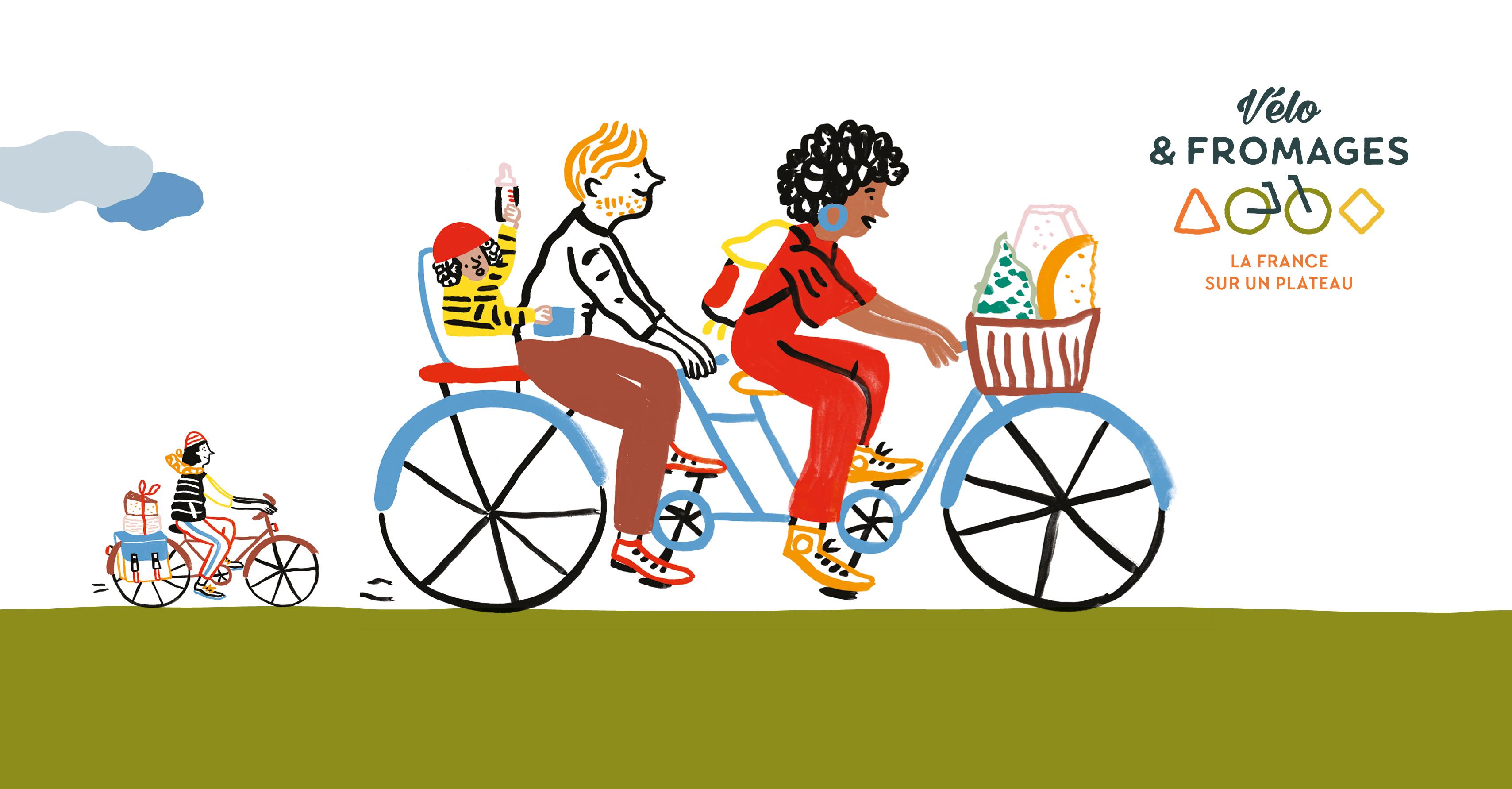 «Vélo & Fromages» souffle sa deuxième bougie !