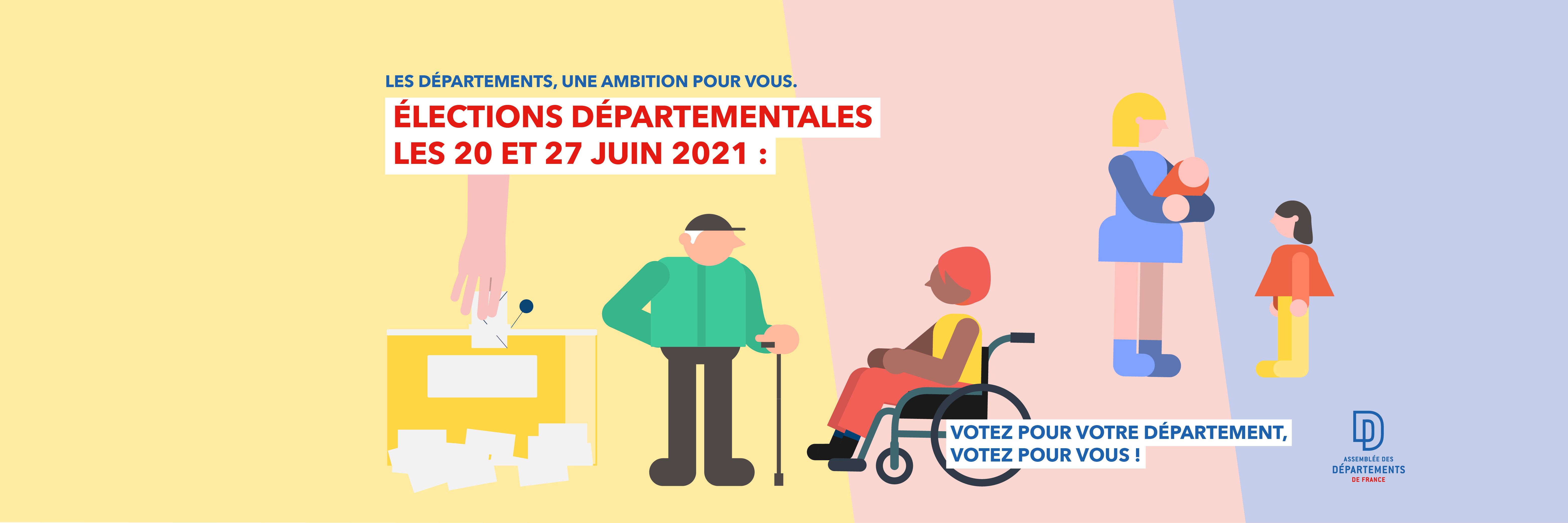 Élections départementales des 20 et 27 juin 2021