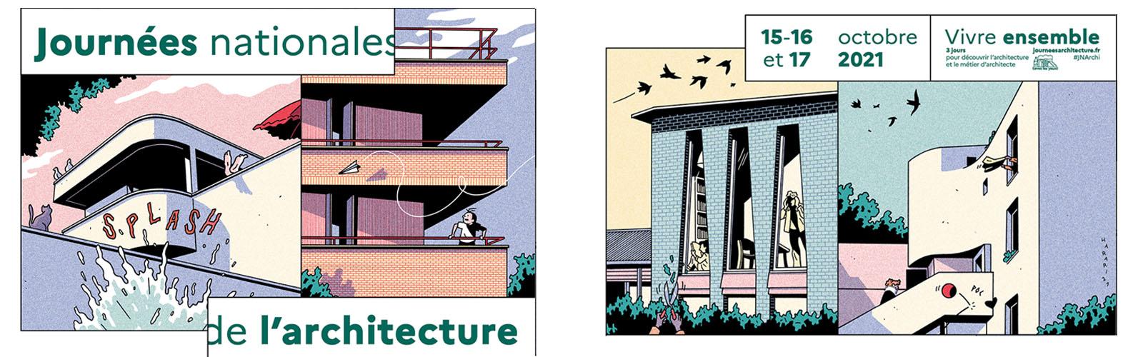 Les Journées nationales de l'Architecture : pour le mieux « Vivre ensemble »